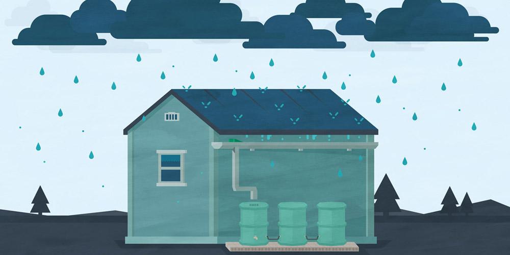 rain-water